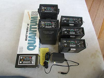 5 UNITS Quantum Battery 1 & Quantum Battery 2 - ALL IN WORKING CONDITION