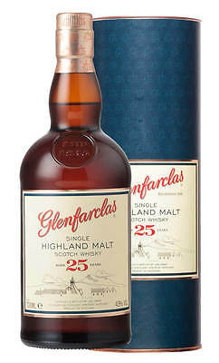 Glenfarclas 25YO Highland Single Malt Scotch Whisky 700ml (Boxed)