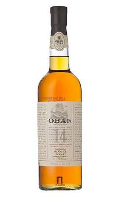 Oban 14YO Single Malt Scotch Whisky 700ml (Boxed)