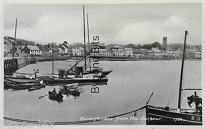Donaghadee from the Harbour Co Down 1930's Postcard Ireland