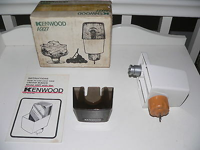 KENWOOD CHEF - Cream Maker A927 - (Fits A901 & all KM models). Ex condition.
