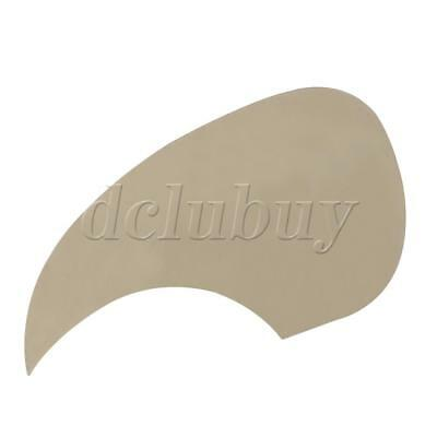 Transparent Acoustic Guitar Clear Pickguard W/ adhesive tape on the back