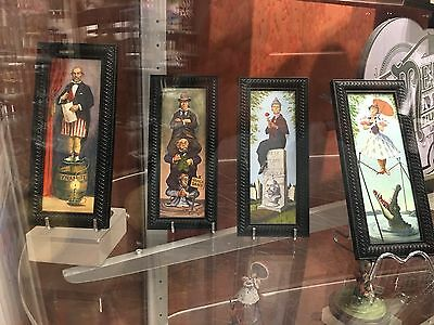 New HAUNTED MANSION Stretch Portrait FRAMED ART CANVAS Set Tightrope Girl