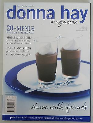 Donna Hay Magazine Issue 52 August/September 2010 - 25% Bulk Magazine Discount
