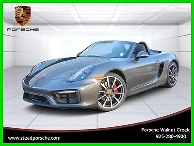 2015 Porsche Boxster 2dr Roadster GTS 2015 2dr Roadster GTS Used Certified 3.4L H6 24V Automatic RWD Premium