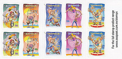 Australia 2007 mint unhinged CIRCUS booklet
