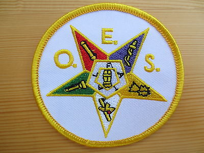 Masonic Embroidery  Patches Mason Regalia Freemason PM6 Order of Eastern Star
