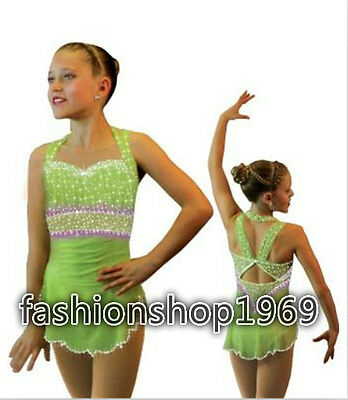 2016 New Ice Figure Skating Dress  Baton Twirling Dress For Competitio xx204