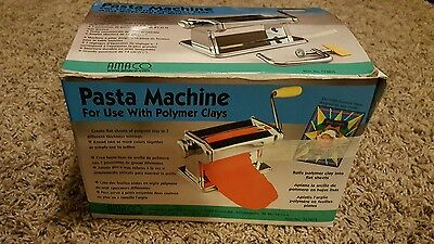 AMACO Craft Pasta Machine For Polymer Clays & Soft Metal Sheets #123815