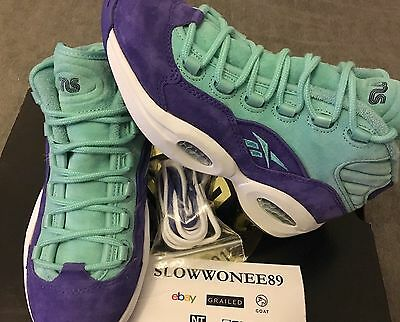 innovative design f6310 daa7b SNS x PACKER SHOES REEBOK QUESTION MID US 6 TOKEN 38 NYC packers  sneakersnstuff