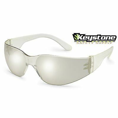 10  Pair Gateway StarLite SM Small Frame Safety Glasses Clear Mirror I/O  360M