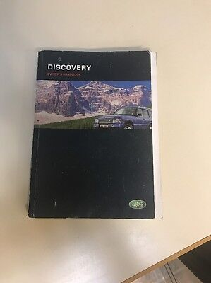 2003 land rover discovery owners handbook