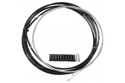 Full Derailleur Gear Cable Kit for Front & Rear (3m inner outer ferrules caps)