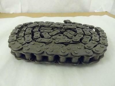 """154747 New-No Box, HKK 80-1R-10ft Roller Chain, #80, 1"""" Pitch, 10Ft Length"""