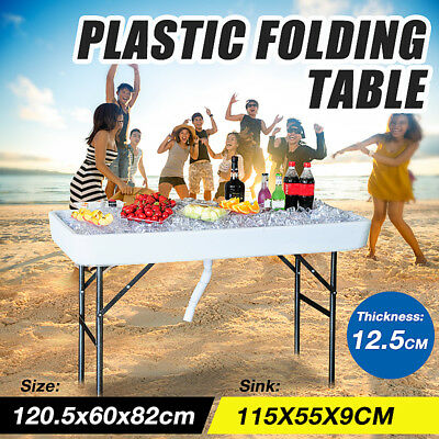 Chill & Fill Party Ice Folding Table