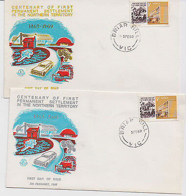 Australia Fdc first day covers 1969 NT BRIAR HILL Excelsior