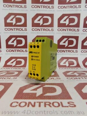 Pilz 774059 PILZ SAFETY RELAY 6AMP 2VA PNOZX7 24VACDC 2N/O - Used