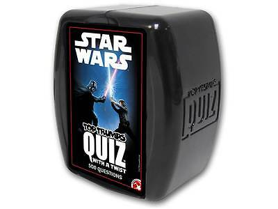 Top Trumps Star Wars Quiz with a Twist Game BRAND NEW