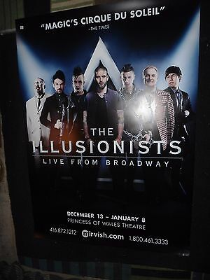 Large The Illusionists Live From Broadway Princes Of Wales Theater Poster