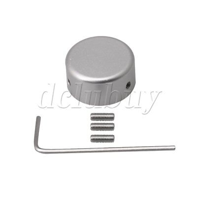 23 x 11mm Silver Aluminum alloy Protection Cap for Guitar Effects Parts