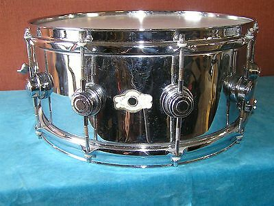 Vintage Camco 14x6 Chrome over Brass snare drum