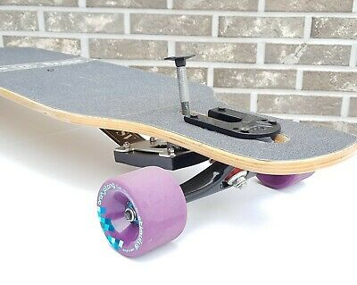 Invincible!!  Longboard Brake Kit 2.0 For Drop Trough (Rubber Brake) Free Ship
