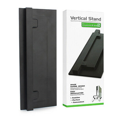 Vertical Stand For Xbox One S (Slim) Console Black New