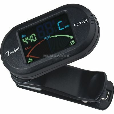 Fender Fender - FCT-012 Color Clip-On Tuner chromatisch