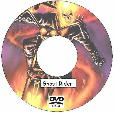 Ghost Rider Comic Collection on DVD 308 issues plus 4 Annuals Vengeance Unbound