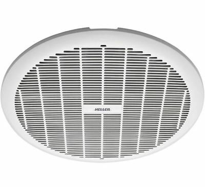 Heller 250mm Ball Bearing Round Ceiling Wall Exhaust Fan Long Life HBBF250W