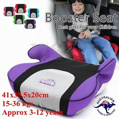 Safety Sturdy Car Booster Seat Chair Pad Fit 3 To 12 Years Baby Children Toddler