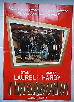 THE LAUREL AND HARDY MURDER CASE/S28/   italy 1 sheet poster