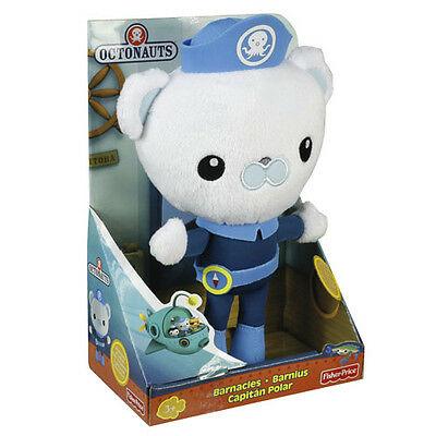 Fisher Price Octonauts Barnacles 20Cm Plush Soft Toy Brand New In Box X0166