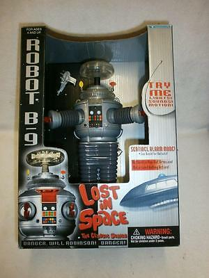 Lost In Space Robot B-9 Lights & Sounds Trendmaster Boxed