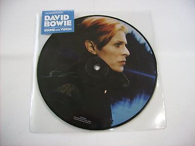 """David Bowie - Sound And Vision - 7"""" Picture Disc Vinyl 2017 New Unplayed"""