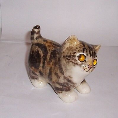 Winstanley Cat Kitten Size 1 Tabby and White Standing