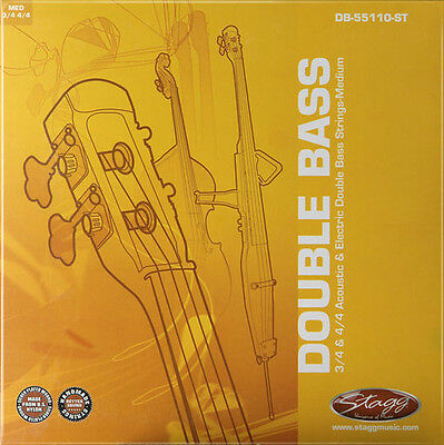 Set of Double Bass Strings