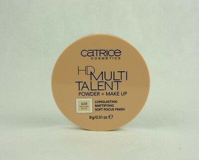 Catrice HD Multi Talent Powder & Make Up longlasting Puder 9g 020 Natural Beige