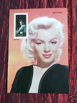 "Marilyn Monroe - Film Star - 1 Page Picture -"" Clipping / Cutting""-#19"