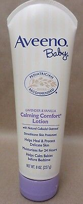 Aveeno Baby Calming And Comfort Lotion 8 oz New and Sealed Exp 01/18 +
