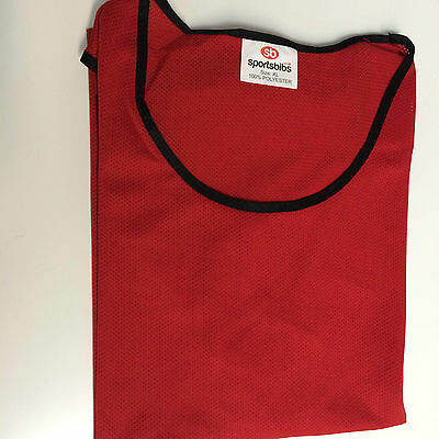 Sports Bibs Football Netball Rugby Mesh Training Bibs Mix & Match Colours/sizes