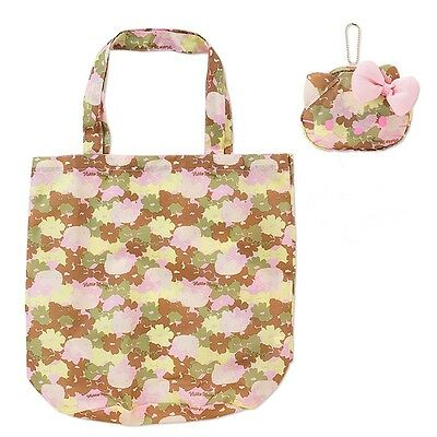 Sanrio Hello Kitty Eco Bag with Mini Pouch Shoulder Folding Carry Bag Travel