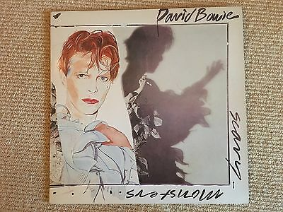 VInyl David Bowie- Scary Monsters LP