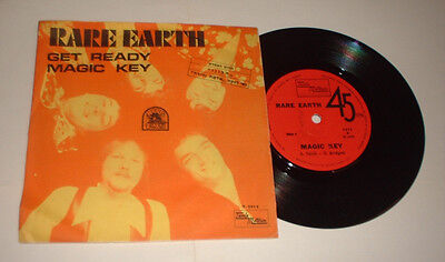 ISRAEL RARE EARTH GET READY TAMLA MOTOWN 5012 picture COVER RECORD