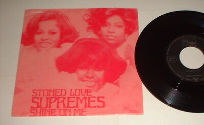 1971 Germany Supremes Stoned Love Tamla Motown 0691999 Picture Cover Record