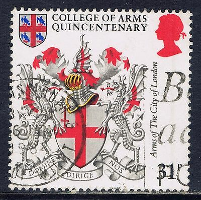 Great Britain #1043(1) 1984 31 pence ARMS OF THE CITY OF LONDON Used