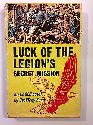 Luck of the Legion's Secret Mission 1956 HB 1st Edition + Letter