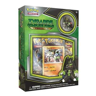 Pokemon Sun Moon Zygarde Complete Collection Box - 3 Booster Packs + Promo + Pin