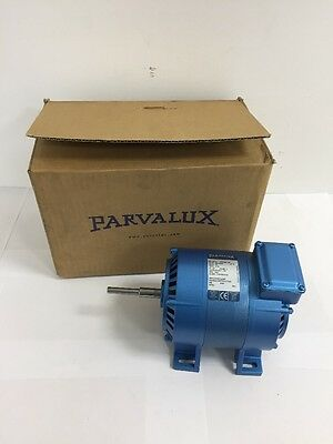 New Parvalux SD18 100w AC Electric Motor Single Phase 1400RPM 4-Pole 220/240vAC