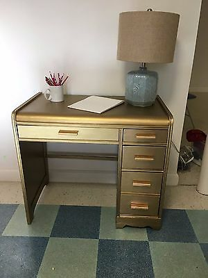Desk with Chair Vintage and Repurposed